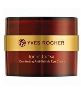 کرم دور چشم ایو روشه مدل ریچ کرم رینکل ریدیوسینگ Yves Rocher Riche Creme Wrinkle Reducing Eye Cream