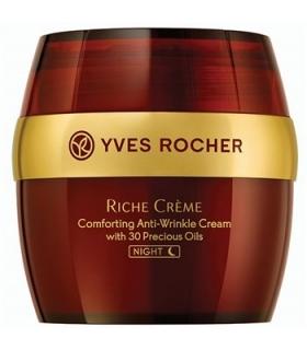 کرم ضد چروک شب ایو روشه مدل ریچ کرم نایت Yves Roche Riche Creme Night Comforting Cream
