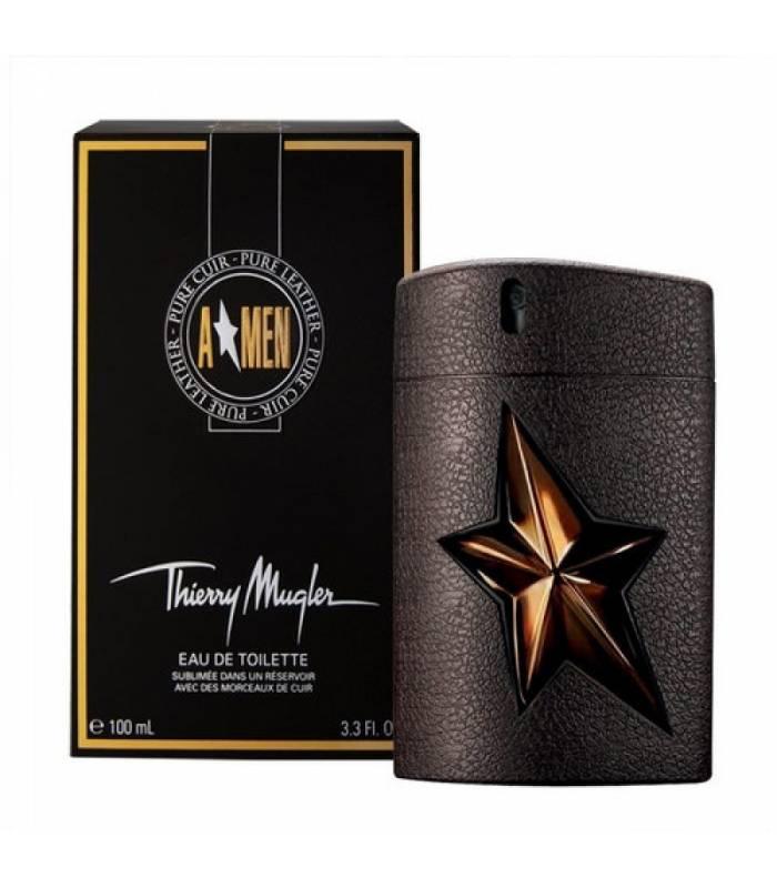 عطر مردانه تیری موگلر ای من پیور لیدر Thierry Mugler Men Pure Leather