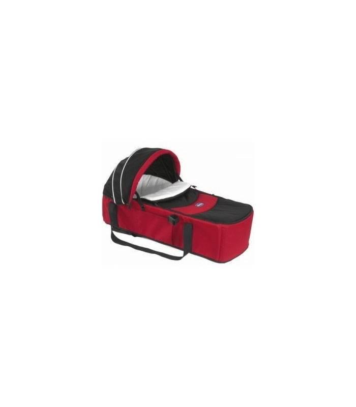 ساک حمل چیکو قرمز مشکی Chicco Sacca Transporter Carry Cot