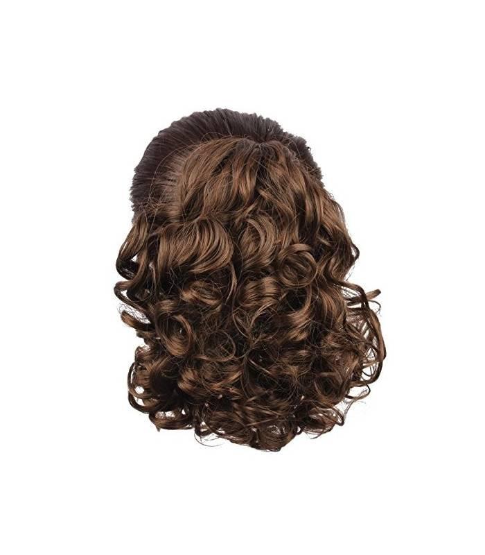 مو تکه ای مصنوعی زنانه متوسط Generic Hair Bun Medium Long Curly Synthetic Hairpiece