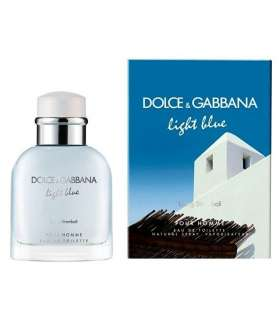 ادکلن مردانه دلچه گابانا لایت بلو لی وینگ استرامبولیDolce & Gabbana Light Blue Living In Stromboli For Men
