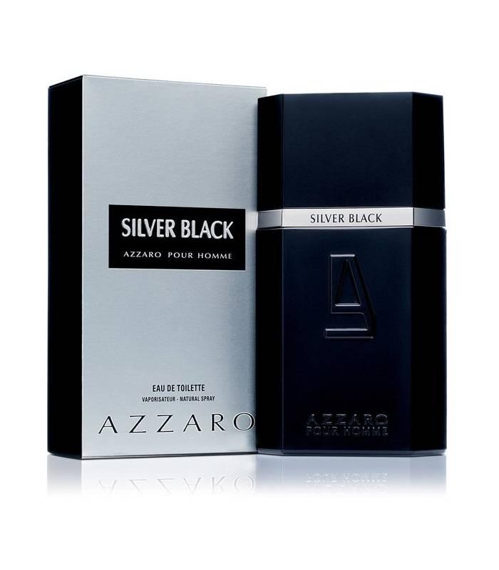 عطر مردانه آزارو سیلور بلک Azzaro Silver Black