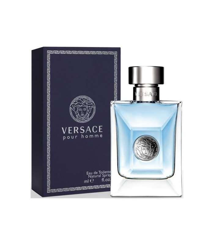 fe845c4e2 خرید،قیمت عطر و ادکلن مردانه ورساچه پور هم Versace Pour Homme for men