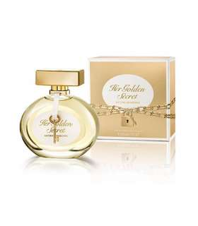 عطر زنان هر سیکرت گلد آنتونیو باندراس Antonio Banderas Her Secret Gold