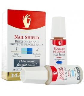 تقویت کننده ناخن ماوالا مدل نیل شید Mavala Reinforces Nail Shield Cleanser And Oil Nail 10ml