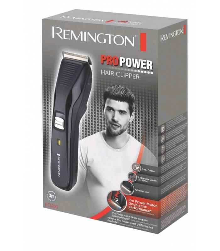 ماشین اصلاح سر و صورت پر قدرت و با دوام اچ سی 5200 رمینگتون Remington HC5200 Hair Clipper