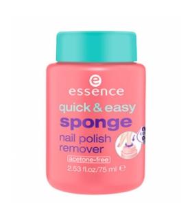 لاک پاک کن اسنس مدل کوییک اند ایزی اسپانج Essense Quick And Easy Sponge Nail Polish Remover