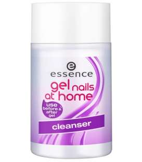 محلول پاک کننده لاک ناخن اسنس مدل ات هوم Gel Nails At Home Cleanser