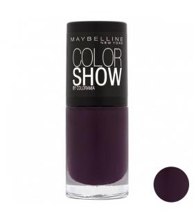 لاک ناخن میبلین مدل ووآ کالر شو نویت د گایل Maybelline Vao Color Show Noite De Gal Nail Polish 104