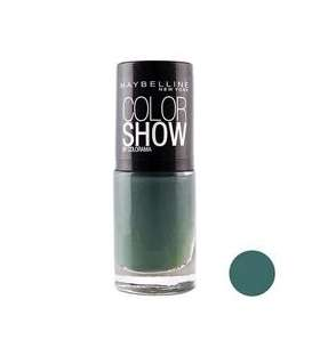 لاک ناخن میبلین مدل ووآ کالر شو موس Maybelline Vao Color Show Moss Nail Polish 652