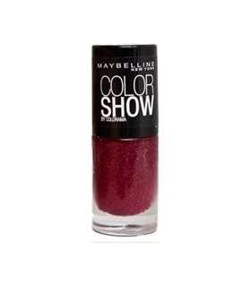 لاک ناخن میبلین مدل ووآ کالر شو وینشیمر Maybelline Vao Color Show Wineshimmer Nail Polish 265