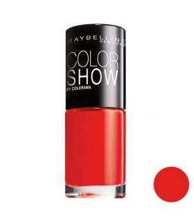 لاک ناخن میبلین مدل ووآ کالر شو اوربان کورال Maybelline Vao Color Show Urban Coral Nail Polish 110