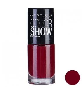 لاک ناخن میبلین مدل ووآ کالر شو دون تاون رد Maybelline Vao Color Show Downtown Red Nail Polish 352