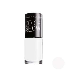 لاک ناخن میبلین مدل ووآ کالر شو مارش ملو Maybelline Vao Color Show Marshmellow Nail Polish 19