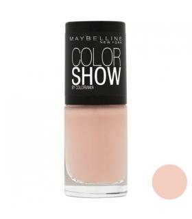 لاک ناخن میبلین مدل ووآ کالر شو لته Maybelline Vao Color Show Latte Nail Polish 254