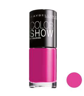 لاک ناخن میبلین مدل ووآ کالر شو پینک بیکینی Maybelline Vao Color Show Pink Bikinii Nail Polish 83