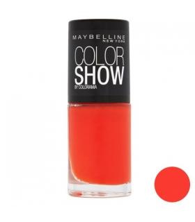 لاک ناخن میبلین مدل ووآ کالر شو اورنج اتک Maybelline Vao Color Show Orange Attack Nail Polish 341