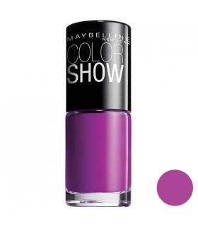 لاک ناخن میبلین مدل ووآ کالر شو لوندر لایز Maybelline Vao Color Show Lavender Lies Nail Polish 554