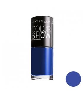 لاک ناخن میبلین مدل ووآ کالر شو اوشن بلو Maybelline Vao Color Show Ocean Blue Nail Polish 661
