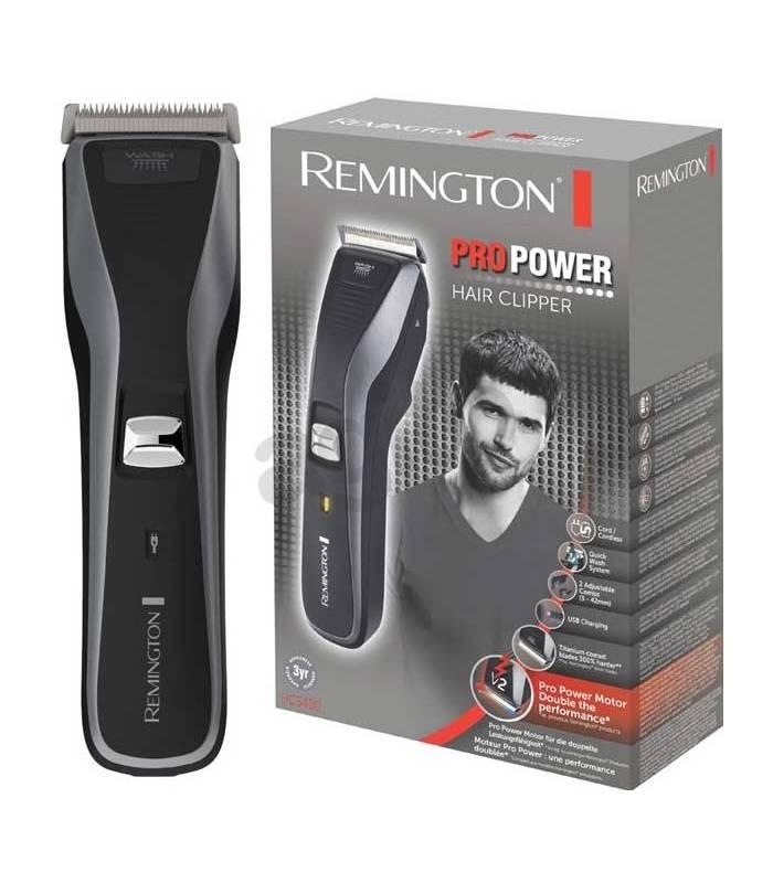 ماشین اصلاح سر و صورت پر قدرت و با دوام اچ سی 5400 رمینگتون Remington HC5400 Hair Clipper