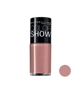لاک ناخن میبلین مدل ووآ کالر شو بریک شیمر Maybelline Vao Color Show Brick Shimmer Nail Polish 465