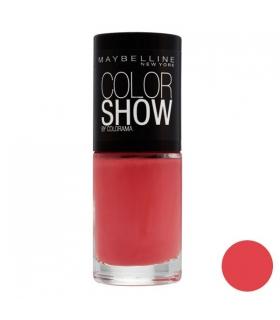 لاک ناخن میبلین مدل ووآ کالر شو کورال گلیز Maybelline Vao Color Show Coral Glaze Nail Polish 342