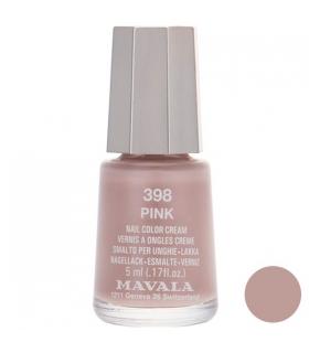 لاک ناخن ماوالا مدل مینی پینک شماره 398 Mavala Mini Pink Nail Polish 398