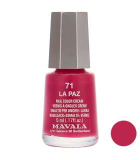 لاک ناخن ماوالا مدل مینی لا پاز شماره 71 Mavala Mini La Paz Nail Polish 71