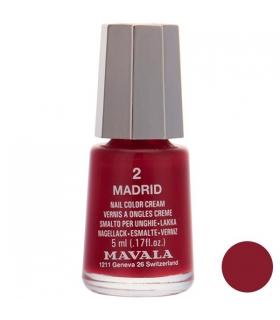 لاک ناخن ماوالا مدل مینی مادرید شماره 02 Mavala Mini Madrid Nail Polish 02