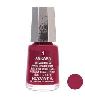 لاک ناخن ماوالا مدل مینی آنکارا شماره 01 Mavala Mini Ankara Nail Polish 01