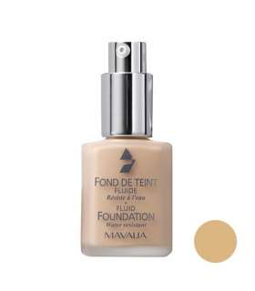 کرم پودر ماوالا سری Fluid مدل Aurore 510.09 Mavala Fluid Foundation Aurore 510.09