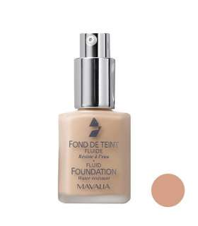 کرم پودر ماوالا سری Fluid مدل Beige Rose 510.02 Mavala Fluid Foundation Beige Rose 510.02