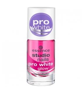 لاک ناخن اسنس مدل استادیو پرو وایت گلو Essence Studio Pro White Glow Nail Polish