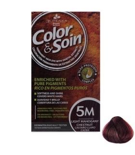 کیت رنگ مو کالر اند سوان سری قرمزشماره 5 Color-And-Soin-Red-5M M