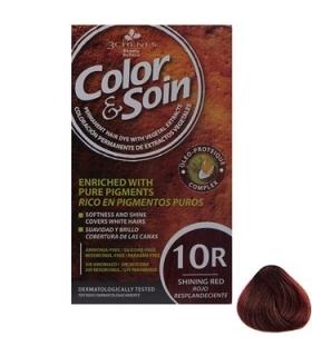 کیت رنگ مو کالر اند سوان سری قرمز شماره 10 آر Color-And-Soin-Red-10R