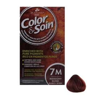 کیت رنگ مو کالر اند سوان سری قرمزشماره 7 Color-And-Soin-Red-7M M