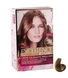 کیت رنگ مو لورآل شماره اکسلنس 7 LOreal Excellence No 7 Hair Color Kit