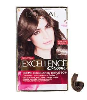کیت رنگ مو لورآل شماره 5 اکسلنس LOreal Excellence No 5 Hair Color Kit