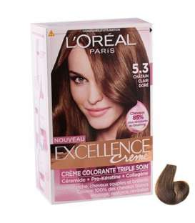 کیت رنگ مو لورآل شماره 5.3 اکسلنس Loreal Excellence No 5.3 Hair Color Kit