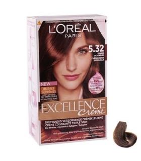 کیت رنگ مو لورآل شماره 5.32 اکسلنس LOreal Excellence No 5.32 Hair Color Kit