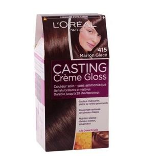 کیت رنگ مو لورآل شماره 415 کستینگ کرم گلاس LOreal Casting Creme Gloss Hair Color Kit 415