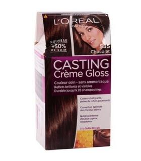 کیت رنگ مو لورآل شماره 535 کستینگ کرم گلاس LOreal Casting Creme Gloss Hair Color Kit 535
