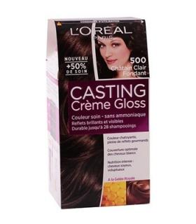 کیت رنگ مو لورآل کستینگ کرم گلاس شماره 500 LOreal Casting Creme Gloss Hair Color Kit 500