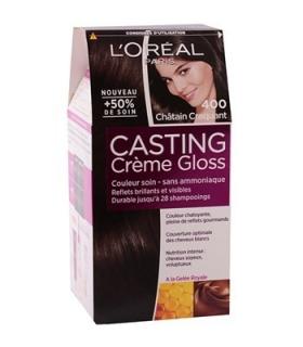 کیت رنگ مو لورآل کستینگ کرم گلاس شماره 400 LOreal Casting Creme Gloss Hair Color Kit 400