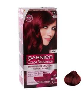 کیت رنگ مو گارنیه کالر سنشینشن شید شماره 5.62 Garnier Color Sensation Shade 5.62 Hair Color Kit