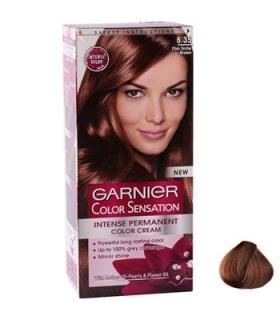 کیت رنگ مو گارنیه کالر سنسشن شید شماره 6.35 Garnier Color Sensation Shade 6.35 Hair Color Kit