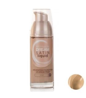 کرم پودر میبلین مدل دریم ساتین لیکوئید ایووری 10 Maybelline Dream Satin Liquid Ivory 10 Foundation