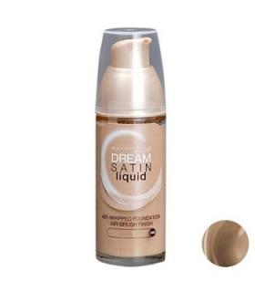 کرم پودر میبلین مدل دریم ساتین لیکوئیدکنل 40 Maybelline Dream Satin Liquid Cannelle 40 Foundation