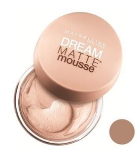 موس میبلین مدل دریم مت موس بیگ انسولیل 48 Maybelline Dream Matte Mousse Beige Ensoleille 48